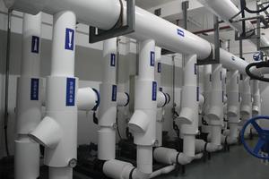 分集水器房保温PVC外保护系统做工精细,布局精美
